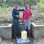 The Water Project: Shiyunzu Community, Imbukwa Spring -  Jemmimah And Selfine