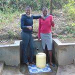 The Water Project: Shiyunzu Community, Imbukwa Spring -  Jemmimah And Selfine