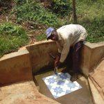 The Water Project: Sharambatsa Community, Mihako Spring -  Peter Imbutsi