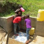 The Water Project: Futsi Fuvili Community, Simeon Shimaka Spring -  Drink Up