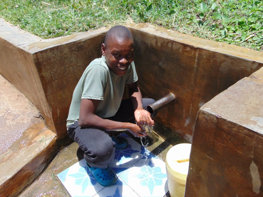 The Water Project : 3-kenya18165-karim-tohola