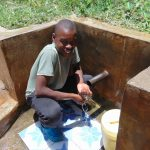 The Water Project: Elukuto Community, Isa Spring -  Karim Tohola