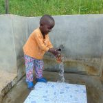 The Water Project: Mukoko Community, Mukoko Spring -  Flowing Water In June