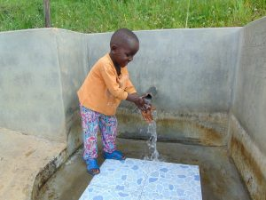 The Water Project:  Flowing Water In June