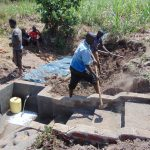 The Water Project: Musango Community, Emufutu Spring -  Construction