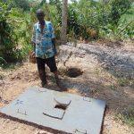 The Water Project: Musango Community, Emufutu Spring -  Finished Sanitation Platform