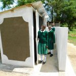 The Water Project: Ebutenje Primary School -  Finished Latrines