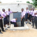 The Water Project: Namanja Secondary School -  Flowing Water