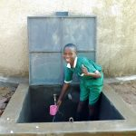 The Water Project: Ebutenje Primary School -  Flowing Water