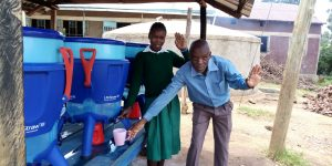 The Water Project:  Angela And Peter Use The Lifestraw