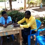 The Water Project: Esibeye Secondary School -  Erick Interviews Rumona