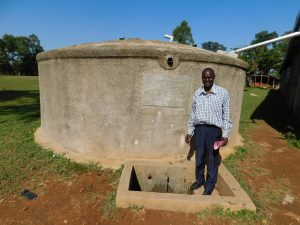 The Water Project:  Deputy Principal Titus Wanyama