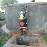 The Water Project: Imbale Secondary School -  Sanitation Teacher Mrs Mumford Isadia