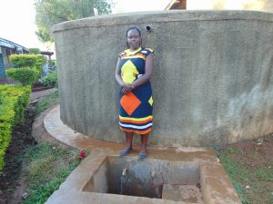 The Water Project:  Sanitation Teacher Mrs Mumford Isadia