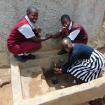 The Water Project: George Khaniri Kaptisi Mixed Secondary School -  Sylvia Vihenda Magdalene Kwamboka Joan Were