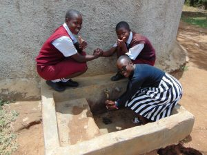 The Water Project:  Sylvia Vihenda Magdalene Kwamboka Joan Were