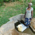 The Water Project: Shihingo Community, Mulambala Spring -  Lydia Kasiti