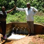 The Water Project: Shilakaya Community, Shanamwevo Spring -  Jacklyne And John