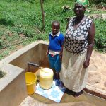 The Water Project: Ivulugulu Community, Ishangwela Spring -  Dora And Lewi