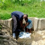 The Water Project: Musango Community, Dawi Spring -  Cooling Off