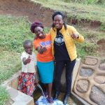 The Water Project: Musango Community, Ham Mwenje Spring -  Lucia Violet Lillian