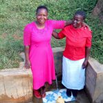 The Water Project: Ataku Community, Ataku Spring -  Betty And Esther