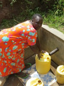 The Water Project:  Jacklyne Fetches Water