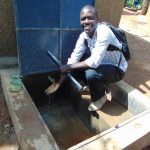 The Water Project: Kitumba Primary School -  Flowing Water