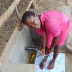 The Water Project: Eshiasuli Community, Eshiasuli Spring -  Cooling Down