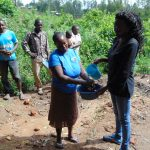 The Water Project: Eshiasuli Community, Eshiasuli Spring -  Handwashing Training