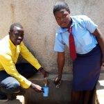 The Water Project: Esibeye Secondary School -  Erick With Rumona