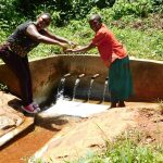 The Water Project: Shilakaya Community, Shanamwevo Spring -  Jacklyne And Befry