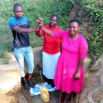The Water Project: Ataku Community, Ataku Spring -  Charle Esther Betty