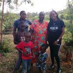The Water Project: Futsi Fuvili Community, Simeon Shimaka Spring -  Shamaka Family And Georgina