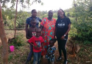 The Water Project:  Shamaka Family And Georgina