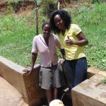 The Water Project: Elukuto Community, Isa Spring -  Sabina And Lillian