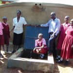 The Water Project: Kitumba Primary School -  Proud Students And Staff