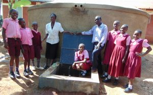 The Water Project:  Proud Students And Staff