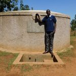 The Water Project: Shanjero Secondary School -  Cyrus Stands Proud