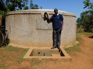 The Water Project:  Cyrus Stands Proud