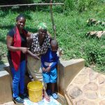 The Water Project: Ivulugulu Community, Ishangwela Spring -  Christine Dora Lewi