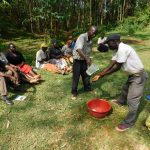 The Water Project: Wajumba Community, Wajumba Spring -  Handwashing Training