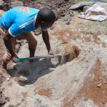 The Water Project: Eshiasuli Community, Eshiasuli Spring -  Cement Mix