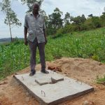 The Water Project: Eshiasuli Community, Eshiasuli Spring -  Sanitation Platform Recipient