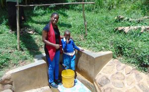 The Water Project:  Christine And Lewi