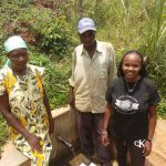 The Water Project: Sharambatsa Community, Mihako Spring -  Esther Peter Georgina