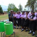 The Water Project: Namanja Secondary School -  Dental Hygiene Training