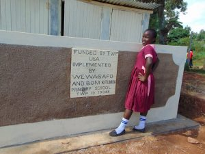The Water Project:  Completed Latrines