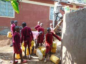 The Water Project:  Students Help Out