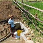 The Water Project: Sambuli Community, Nechesa Spring -  Quick And Easy To Fetch Water